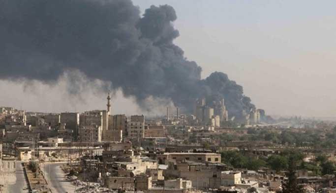 Halep'te bugünkü saldırılarda 15 kişi öldü