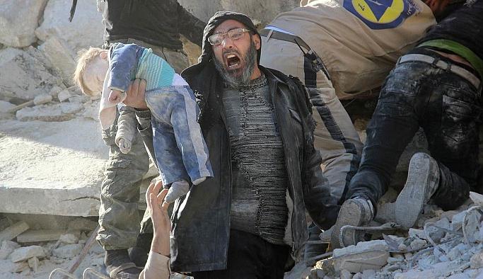 Halep'te sivil katliamı devam ediyor