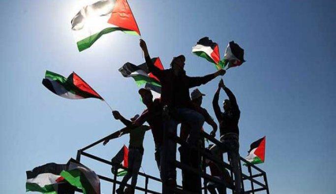 Hapishanelerindeki Filistinlilere destek