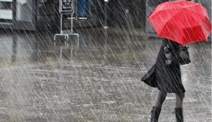 Hatay'da şiddetli sağanak yağış