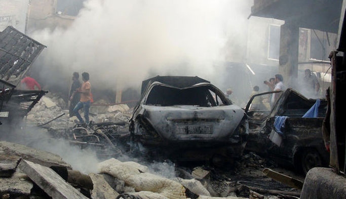 İdlib'e hava saldırısı: 7'si çocuk 9 ölü
