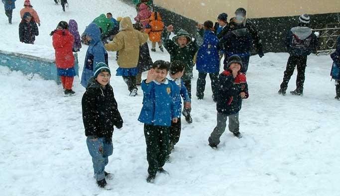 Iğdır'da bazı kentlerde okullar tatil