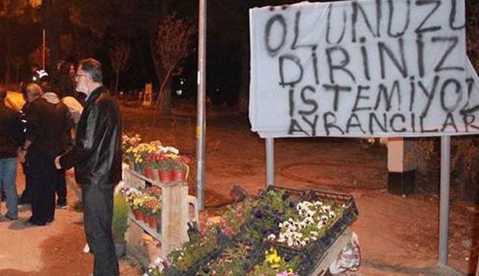 İzmirliler terörist mezarı istemedi
