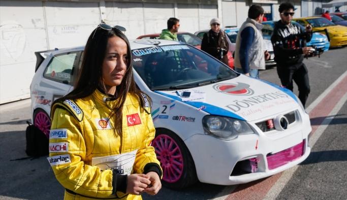 Kadın pilotun şampiyonluk hayali