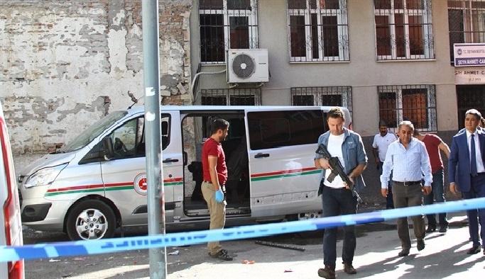 Keşif yapan Adliye personeli'ne patlayıcıyla saldırı