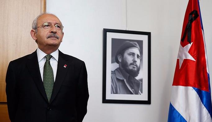 Kılıçdaroğlu'dan Castro için taziye ziyareti