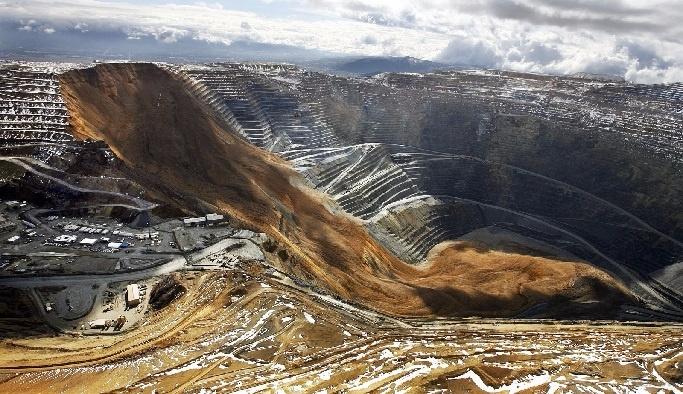 Maden ocağında heyelan arası