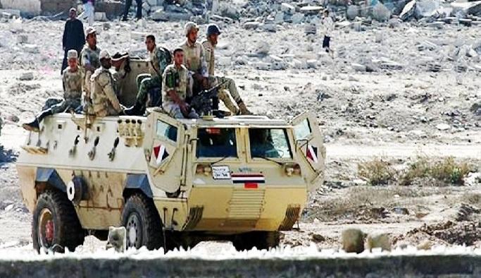 Mısır'dan Sina Yarım Adası'na büyük operasyon