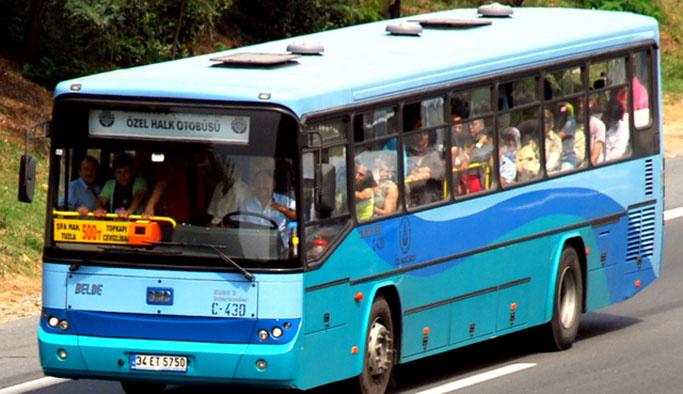 Özel halk otobüsçüleri 'saldırılar'dan şikayetçi