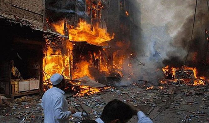Pakistan'da patlama: 45 ölü, 100 yaralı