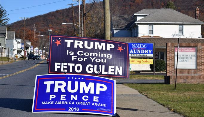 'Trump senin için geliyor FETO'