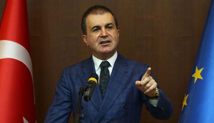 'PKK ifadeleriyle dolu AB raporu'na serte tepki