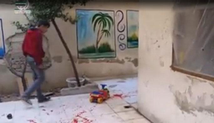 Rejim güçleri çocuk yuvasını vurdu, 6 çocuk öldü