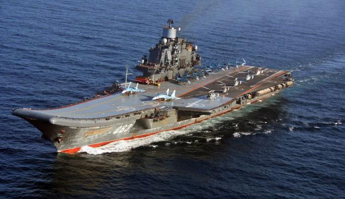 Rusya, Akdeniz'deki gemiden saldırmaya başladı