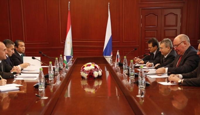 Rusya-Tacikistan istişare toplantısı