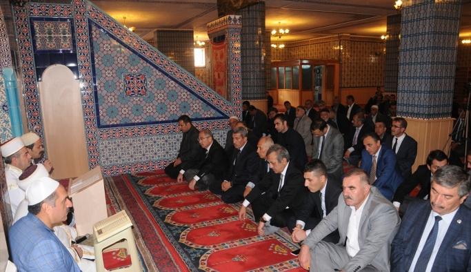 Şehit Kaymakam Safitürk için gıyabi cenaze namazı
