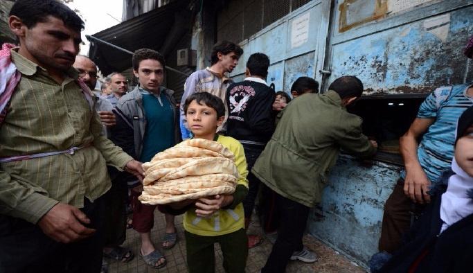 Suriye'de açlık krizi büyüyor