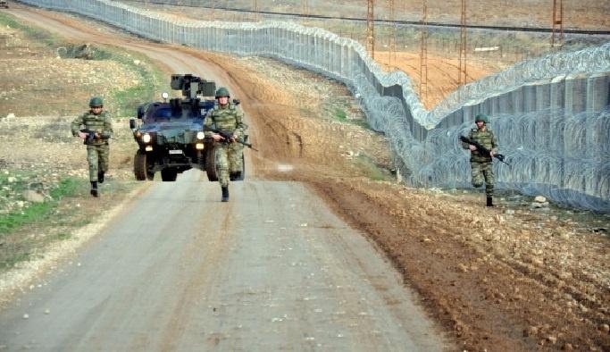Suriye sınırına güvenlik kamerası