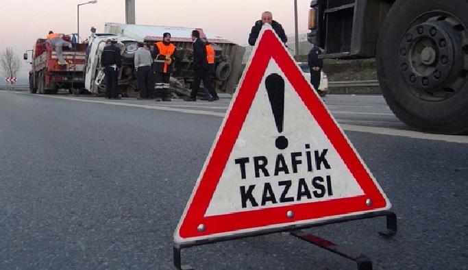Tokat'ta trafik kazası: 1 ölü