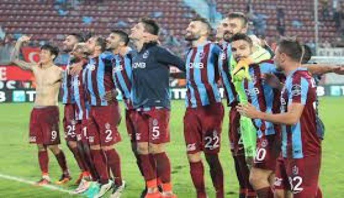 Trabzonspor golde sıkıntılı