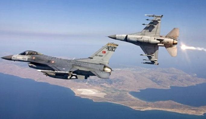 Yunan uçaklarından Türk jetlerine taciz