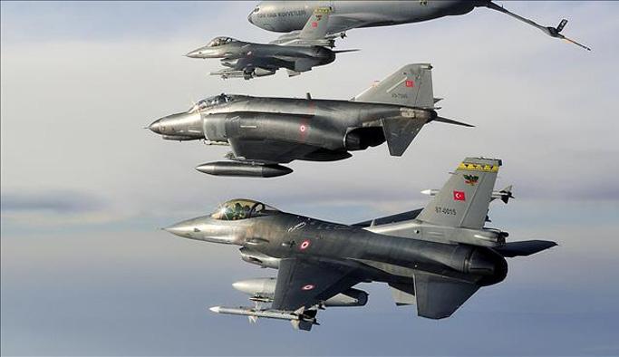 Türkiye'den El Bab'a hava operasyonu