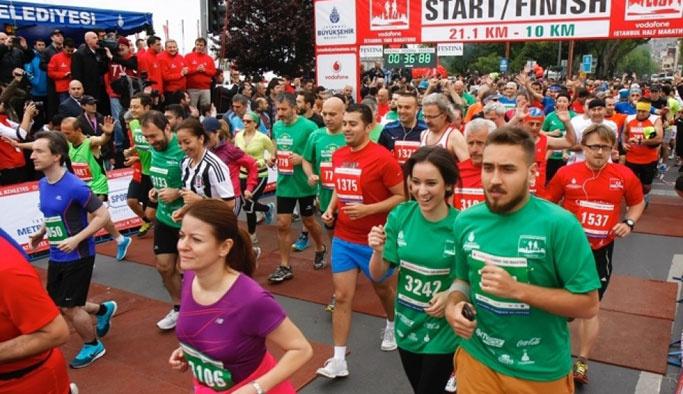 Vodafone 38. İstanbul Maratonu kazananları belli oldu