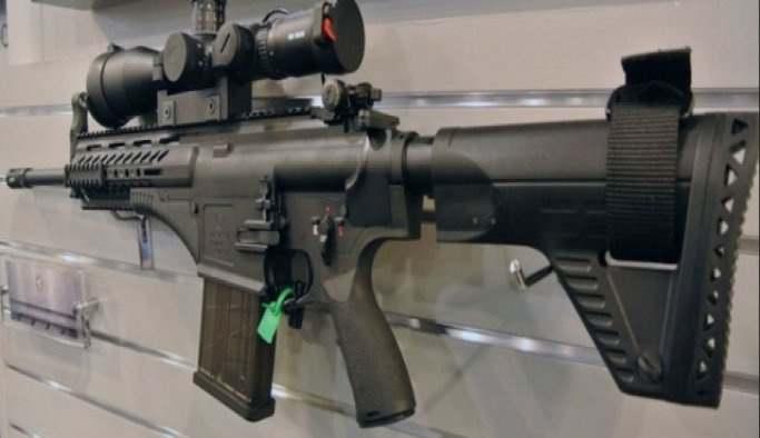 Yeni tüfek dakikada 700 mermi atıyor