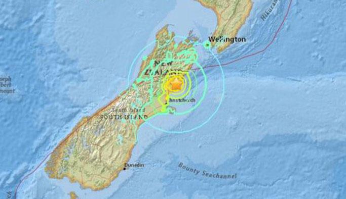 Yeni Zelanda tehlikede, halk kaçıyor