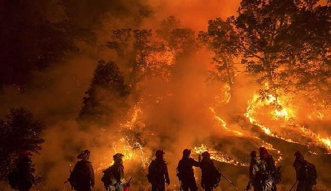 ABD'deki yangında ölü sayısı yükseliyor
