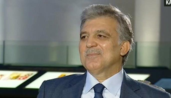 Abdullah Gül kesin bir dille konuştu: Niyetim yok