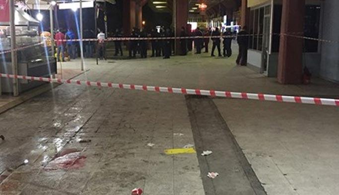 Adana terminalinde 'ölümlü' kavga