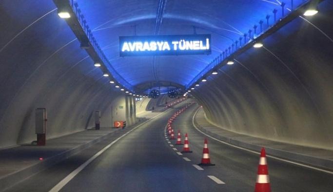 Avrasya Tüneli'nde bir şerit daha açıldı