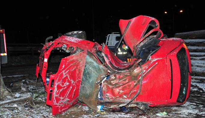 Bursa'da ölümlü trafik kazası