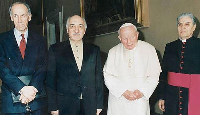 Darbe Komisyonu, Papa ile Gülen'i görüştüren kişiyi araştırıyor