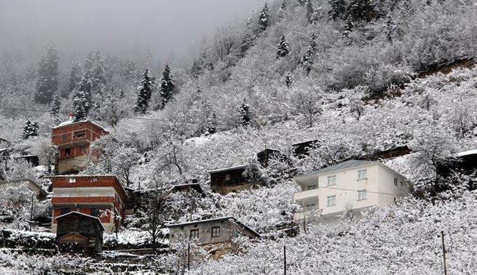 Doğu Karadeniz'e yoğun kar uyarısı