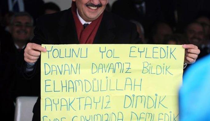 Erdoğan 'davet pankartı'na kayıtsız kalmadı