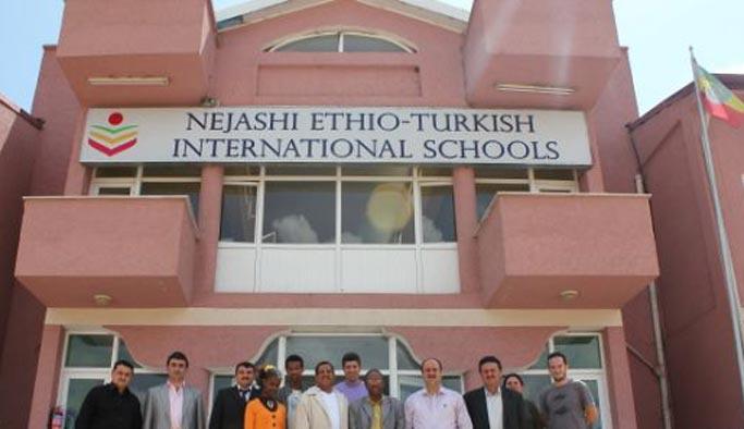 Etiyopya hükümetinden FETÖ okulunda etkinlik