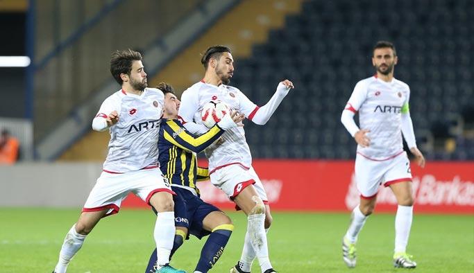 Fenerbahçe seriyi Gençlerbirliği'ne bozdurdu