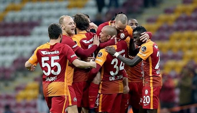 Galatasaray Tuzlaspor faturasını 6 futbolcuya kesti