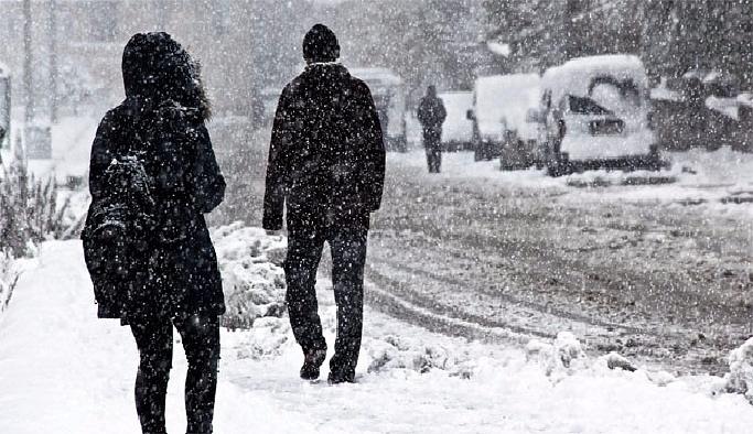 Giresun Çamoluk'ta kar tatil