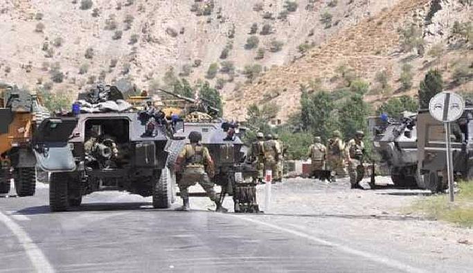 Hakkari'deki 7 terörist öldürüldü