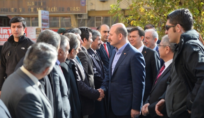 Bakan Soylu Diyarbakır'dan sonra Mardin'de