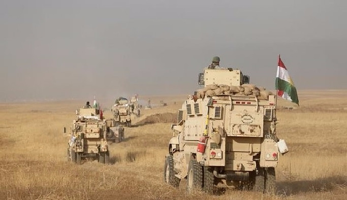 Irak ordusunun Musul'da ilerleyişi devam ediyor