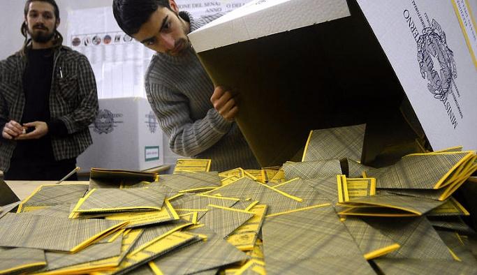 İtalya'da referandum günü