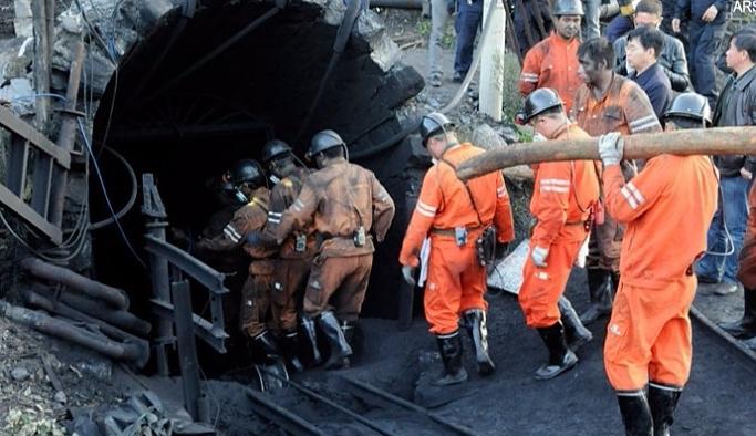 Çin'de grizu patlaması: 17 ölü