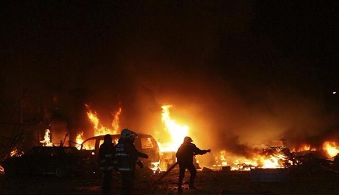 Nusaybin'de korkutan patlama