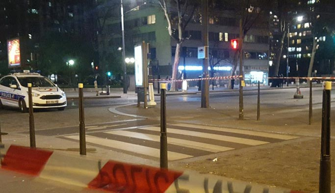 Paris'te rehine krizi soygun girişimi çıktı