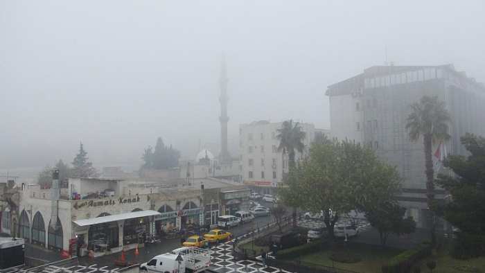 Şanlıurfa'da yoğun sis