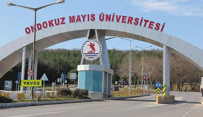 19 Mayıs Üniversitesin'ne FETÖ operasyonu